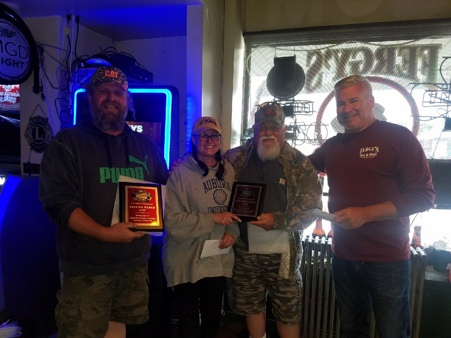 Seneca Catfish Tourney Results