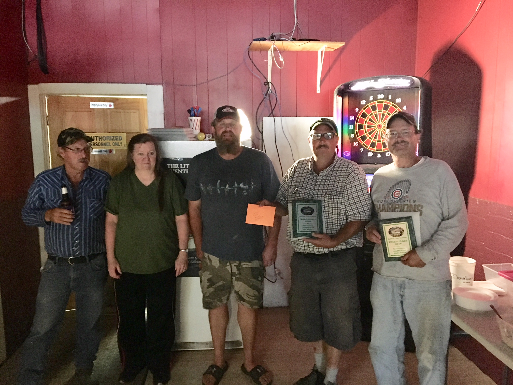 Sidetracked Bar Catfish Tourney Results